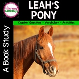 LEAH'S PONY {Beyond the Read Aloud}