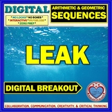LEAK: Digital Breakout about Arithmetic & Geometric Sequences