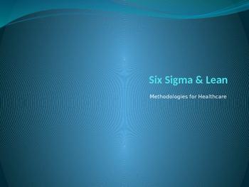 LEAN Six Sigma for Healthcare - Basics