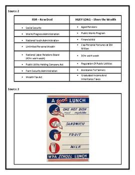 Louisiana History - LEAP 2025 TEST PREP - Huey Long Era - 8th Grade