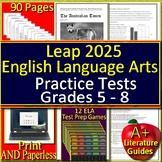 LEAP 2025 Test Prep - Google Tests and Games Bundle - English Language Arts