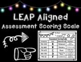 LEAP Aligned End of Unit Achievement Level Assessment Scor