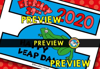 LEAP DAY CRAFTS: LEAP DAY HAT TEMPLATE: HOLIDAY CRAFTS