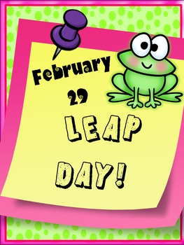 LEAP DAY FUN!