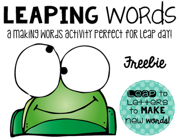 LEAP Day LEAPing activity