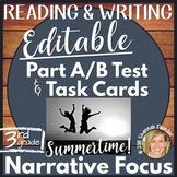 LEAP, PARCC, Standardized Practice Test: Narrative Focus Grade 3
