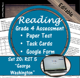 Reading Part A Part B Test, Task Cards RST 5- Informational