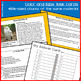 Reading Part A Part B Test, Task Cards NWT 4- Literary & Informational