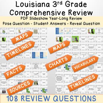 LEAP REVIEW 3rd Grade Louisiana Social Studies