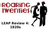 LEAP Review 4: 1920s