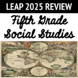 LEAP Review 5th Grade Social Studies, Google Classroom