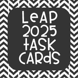 LEAP 2025 Test Prep Task Cards Grade 4