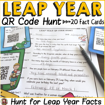 LEAP YEAR: QR CODE HUNT