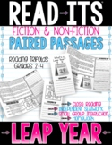 LEAP YEAR Read-Its Paired Passages