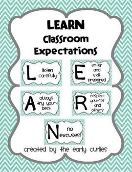 LEARN Classroom Expectations