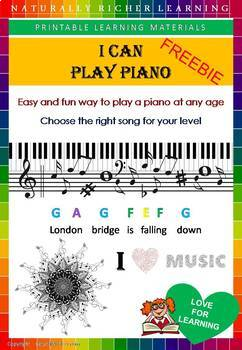 FREE - LEARN HOW TO PLAY PIANO AT ANY AGE, EASY AND FUN by