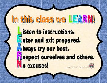 LEARN Poster Freebie