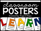 LEARN Poster Set (Primary Colors)