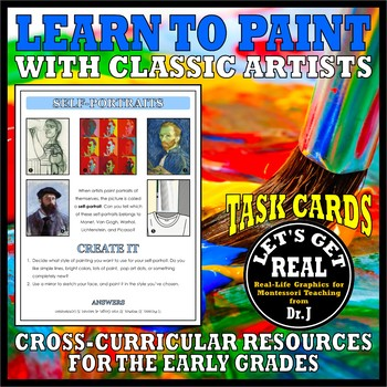LEARN TO PAINT TASK CARDS