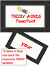 LEARN TO READ AND WRITE TRICKY WORDS