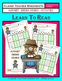 Ending Sounds - Ending Sounds Activities - Kindergarten to Grade 1 (1st Grade)