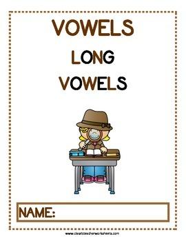 Long Vowels - Long Vowels Activities - Kindergarten to Grade 1 (1st Grade)