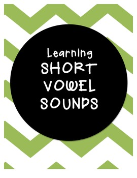 LEARN the SHORT VOWEL SOUNDS