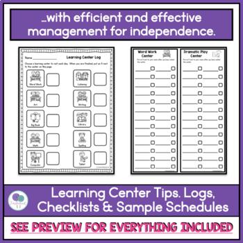 LEARNING CENTER LOGS