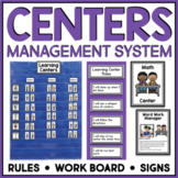 LEARNING CENTERS SIGNS