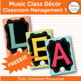 LEARNING – Classroom Management FREEBIE