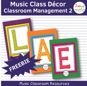 LEARNING – Classroom Management FREEBIE