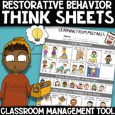 LEARNING FROM MISTAKES REPAIR PLAN: Restorative Behavior R