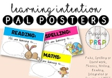 LEARNING INTENTION PAL POSTERS