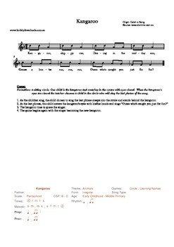 LEARNING NAMES THROUGH SINGING GAMES SHEET MUSIC COLLECTION