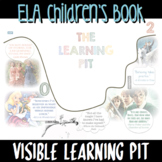 LEARNING PIT Poster Display *ELA Children's Book Theme* GROWTH MINDSET