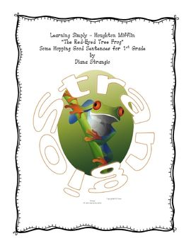 LEARNING SIMPLY - HOUGHTON MIFFLIN - RED EYED TREE FROG THEME 6
