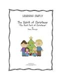 LEARNING SIMPLY - SPIRIT OF CHRISTMAS SENTENCES for 1st grade