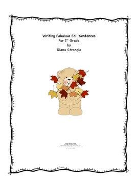 LEARNING SIMPLY- WRITING FABULOUS FALL SENTENCES