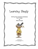 LEARNING SIMPLY- WRITING SCARY SCARECROW SENTENCES