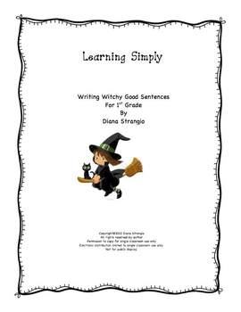 LEARNING SIMPLY- WRITING WITCHY GOOD SENTENCES