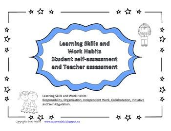 LEARNING SKILLS (English) self-assessment and teacher assessment