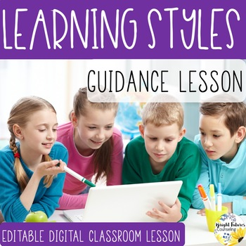 LEARNING STYLES PowerPoint Guidance Lesson