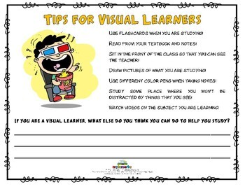 LEARNING STYLES! (Study Skills)