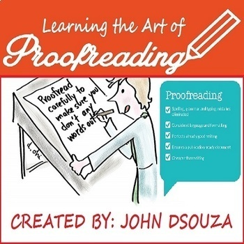 PROOFREADING: LESSON AND RESOURCES