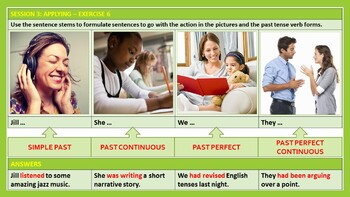 PAST TENSE: LESSON, RESOURCES AND WORKSHEETS