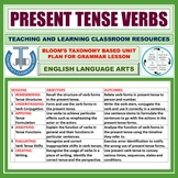 PRESENT TENSE: LESSON AND RESOURCES
