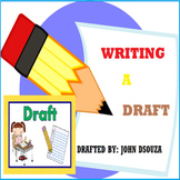 WRITING A DRAFT LESSON AND RESOURCES