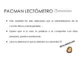 LECTÓMETRO PACMAN