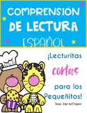 LECTURAS EN ESPAÑOL / APRENDIENDO EN CASA/ READING COMPREH