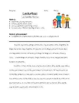 LECTURITAS: LA CASA DE LA FAMILIA ROBLES